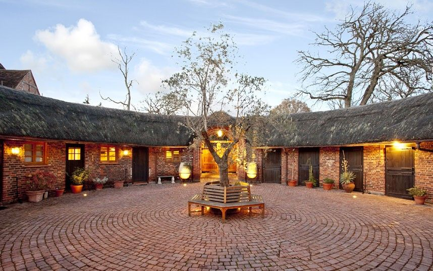 Homes With Charming Courtyards For Sale Courtyard House