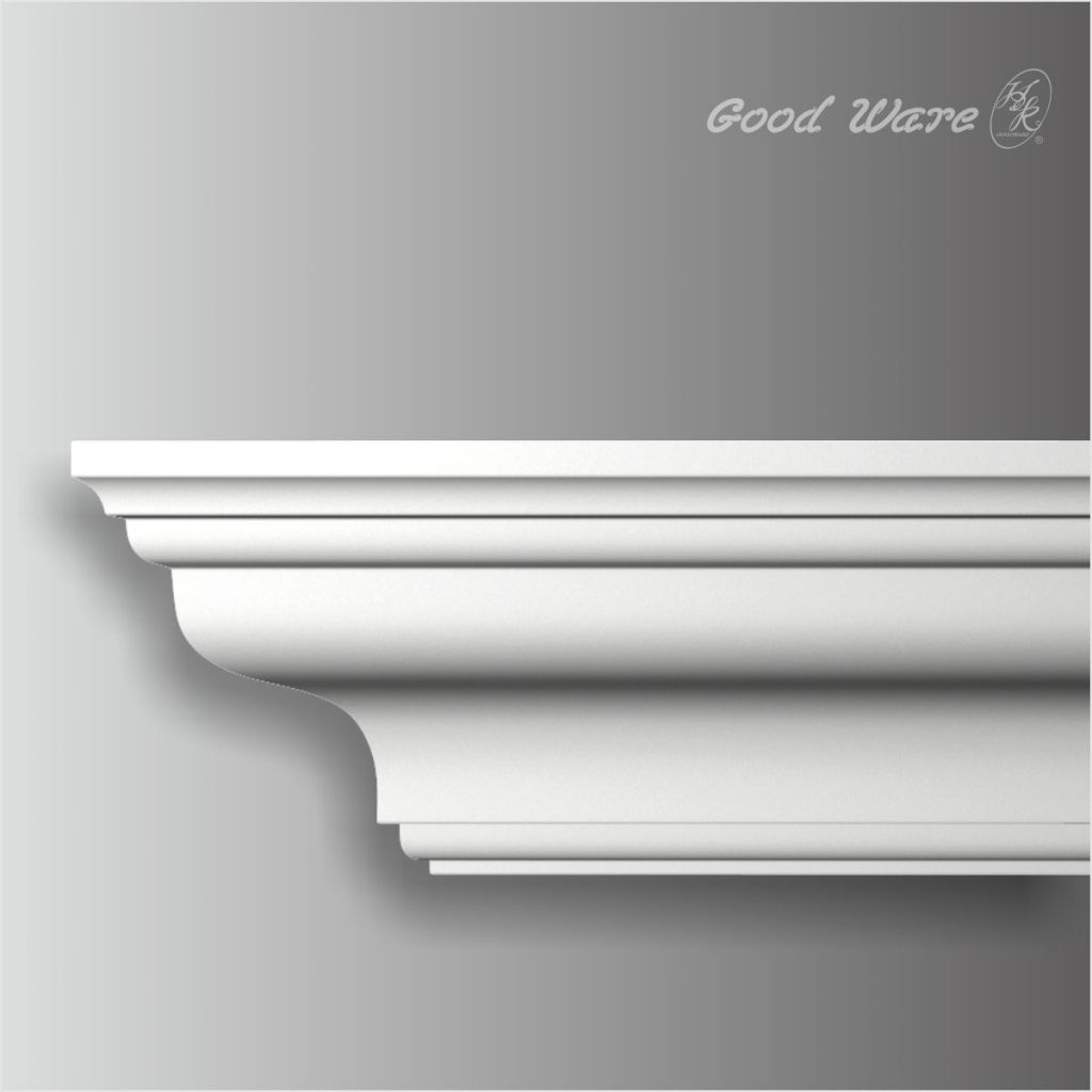 better ceiling decoration with molding georgian | Polyurethane carved crown molding | Moldings, casing ...