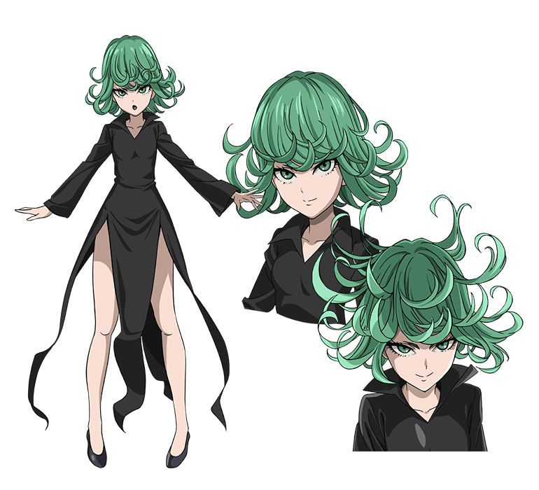 Character Design Wiki : One punch man anime character designs tornado of terror v
