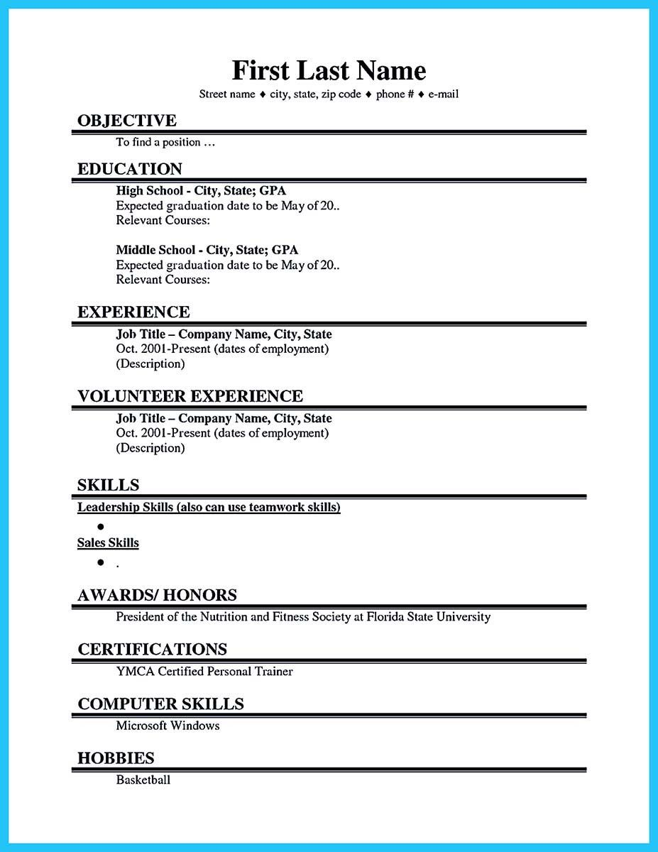 american format resume cover letter sample harvard medical example for high school students college applications deeeeddbcdd - Cover Letters For High School Students With No Experience