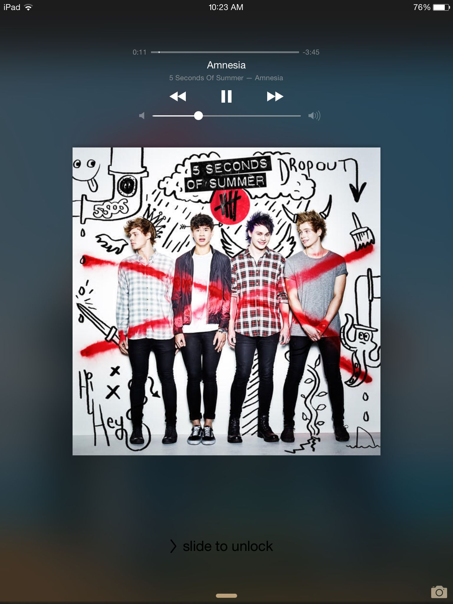 Amnesia Five Seconds Of Summer This Song Makes Me So Emotional