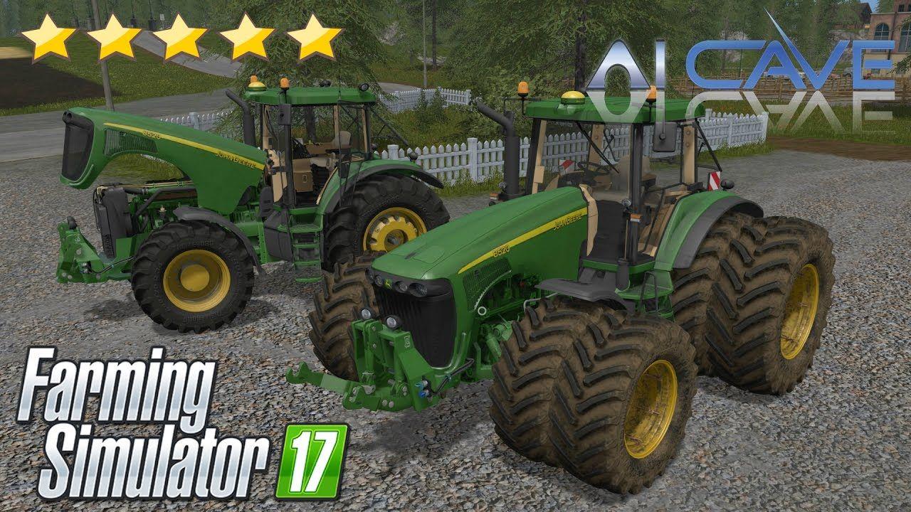 Farming Simulator 17 Mods: JOHN DEERE 8020 SERIES Tractor