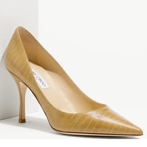 328c84534c0d Super Specials Sleek Best Quality Lockett Lizard Embossed Pumps Yellow  Jimmy Choo French