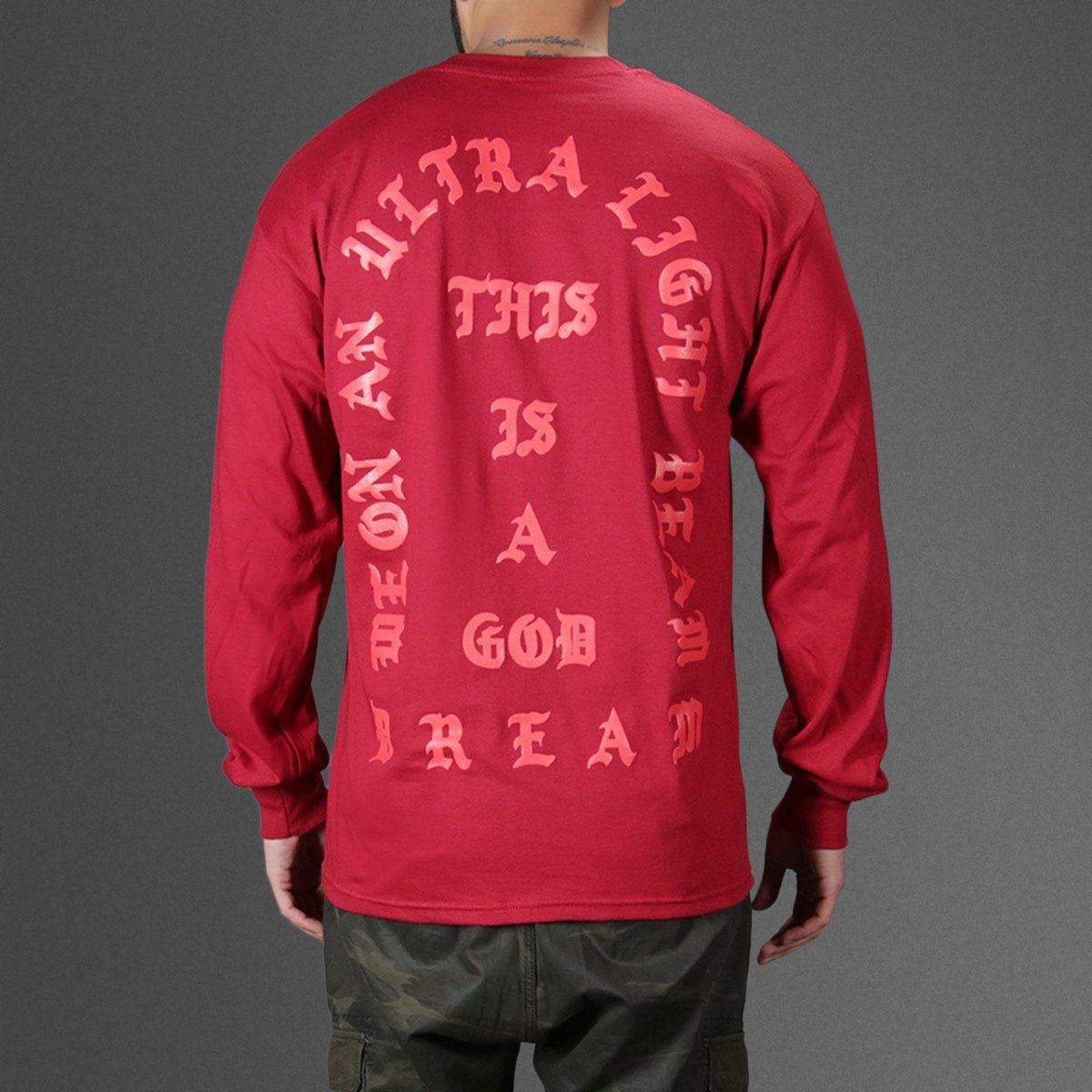 Kanye West I Feel Like Pablo Red Ls With Images Hip Hop Outfits