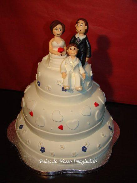 Wedding Cake  Cake by Bolos do Nosso Imaginário