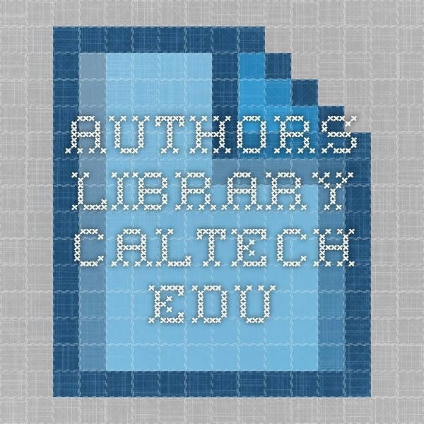 authors.library.caltech.edu