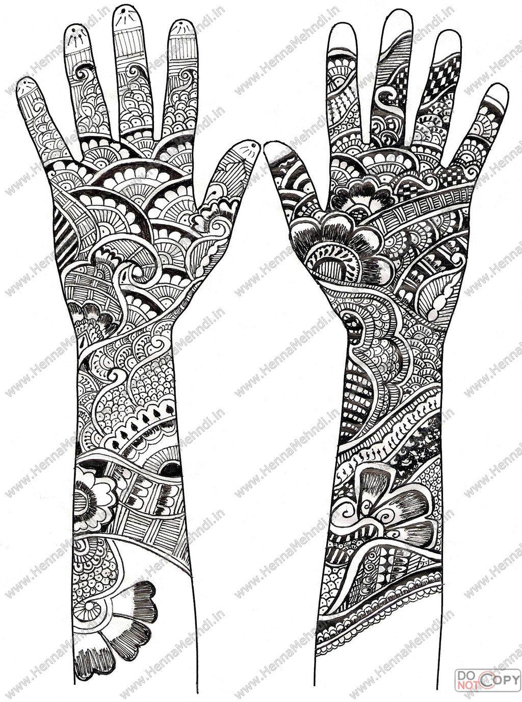White henna design 5 five white henna designs - 20 Henna Tattoos Patterns A Warning About Black Henna
