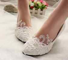 2016 White Lace Crystal Wedding Sho With Images Crystal