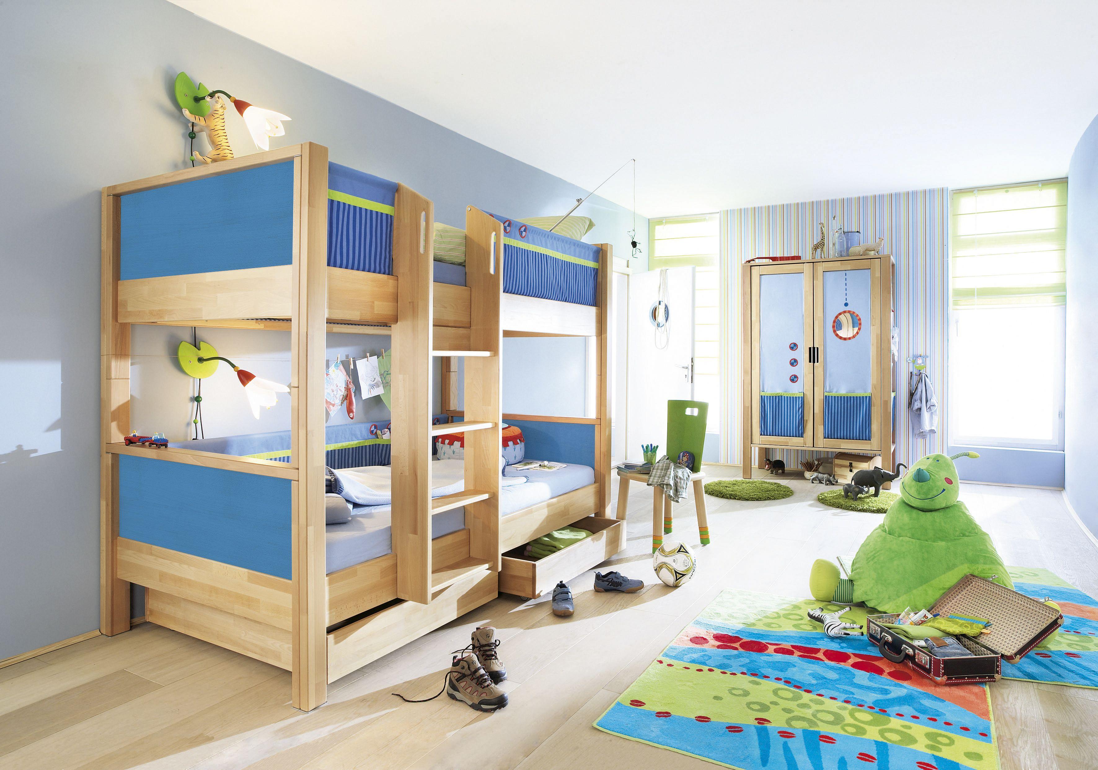 Beispiel Kinderzimmer Aus Der Matti Serie Von Haba Bett Ideen Etagenbett Bett