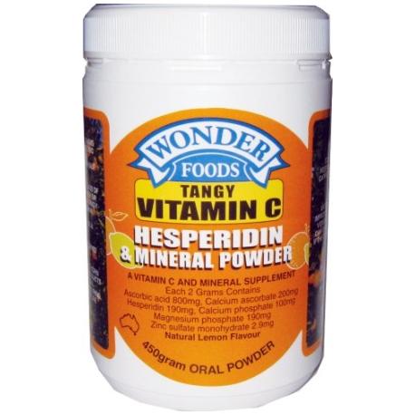 Wonder Foods Tangy Vitamin C Powder 450 g Vitamin