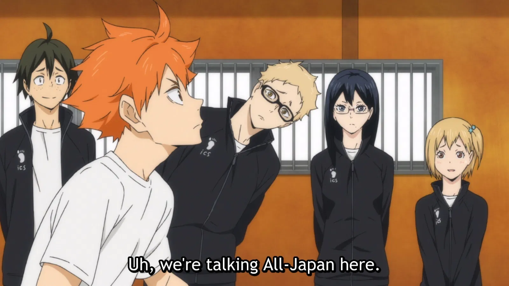 Haikyuu!!: To the Top ep1 - A Fresh Start - I drink and watch anime