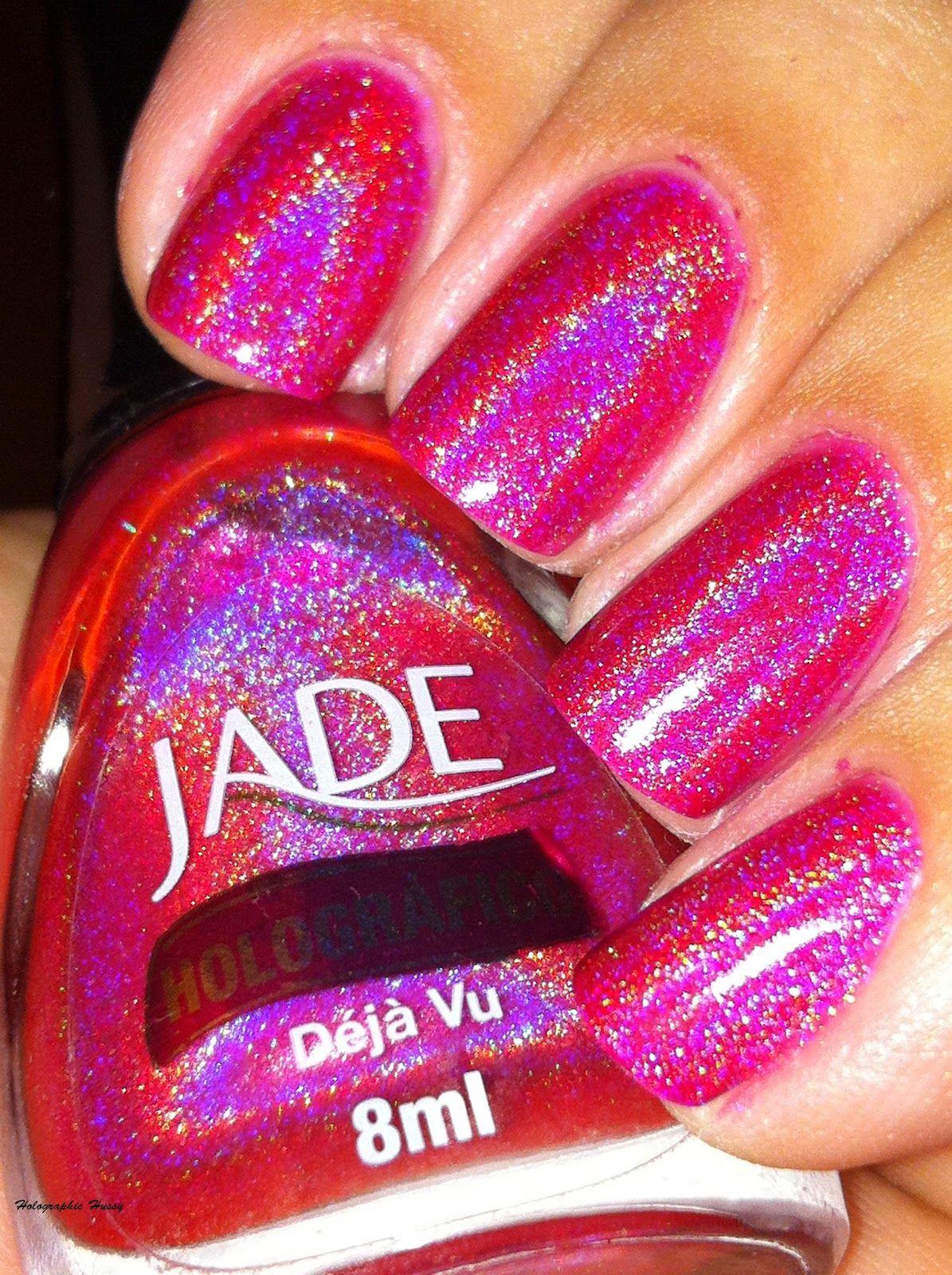 jade holographic nail polish - deja vu - Google Search | Nailed it ...