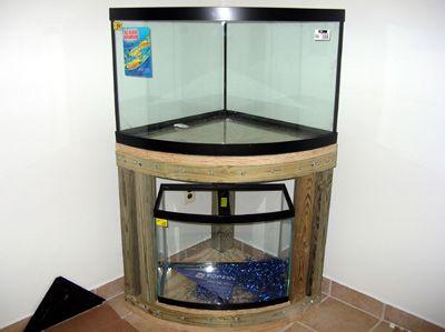 28 DIY Aquarium Stands   Guide Patterns Corner Aquarium, Diy Aquarium  Stand, Big Aquarium