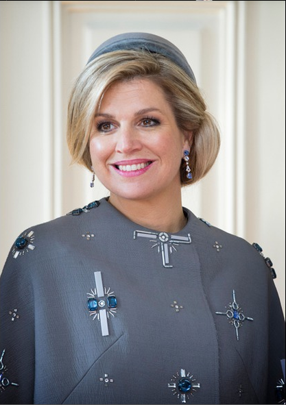 King Willem-Alexander and Queen Maxima State visits Denmark- Official reception at Fredensborg Palace 3/16/2015