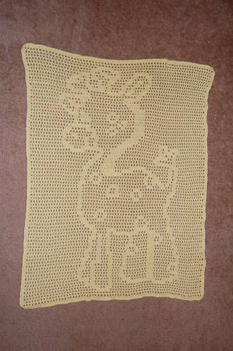My Giraffe Blanket For A Friend Crochet Crochet Patterns