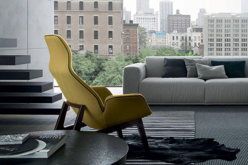 Tomassini Mobili ~ Ventura lounge armchair poliform tomassini arredamenti