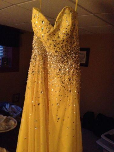 Mori-Lee-Yellow-Prom-Dress