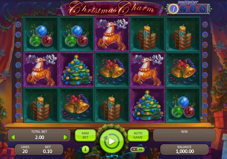 Play for free the Christmas Charm slot machine from Booongo software or choose the best online casinos with Christmas Charm available in your country.Online Casinos.Main Casino games () Booongo Slots Christmas Charm.Christmas Charm.0.56 points.