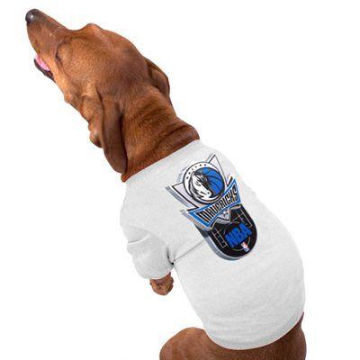 99e473af1f5 Dallas Mavericks Ash Pet T-Shirt