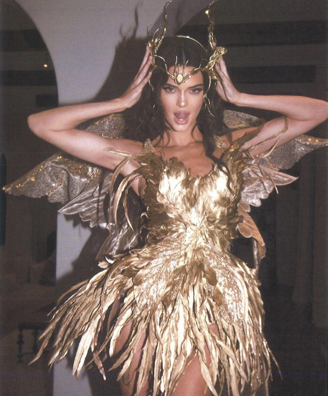 Kylie Jenner Wore Three OvertheTop Costumes Yesterday