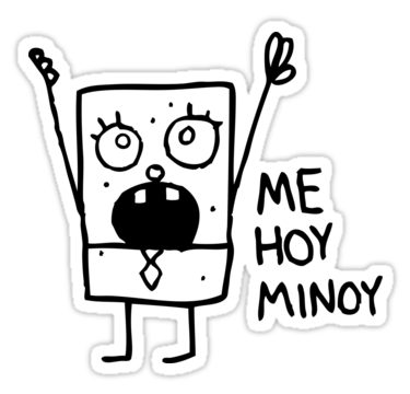 """Spongebob: Doodlebob"" Stickers by lasercatz | Redbubble"