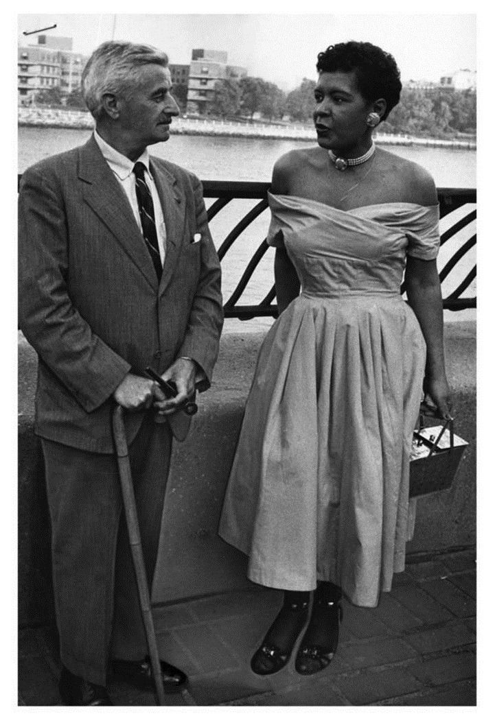 Billie holliday and william faulkner 1956 billie