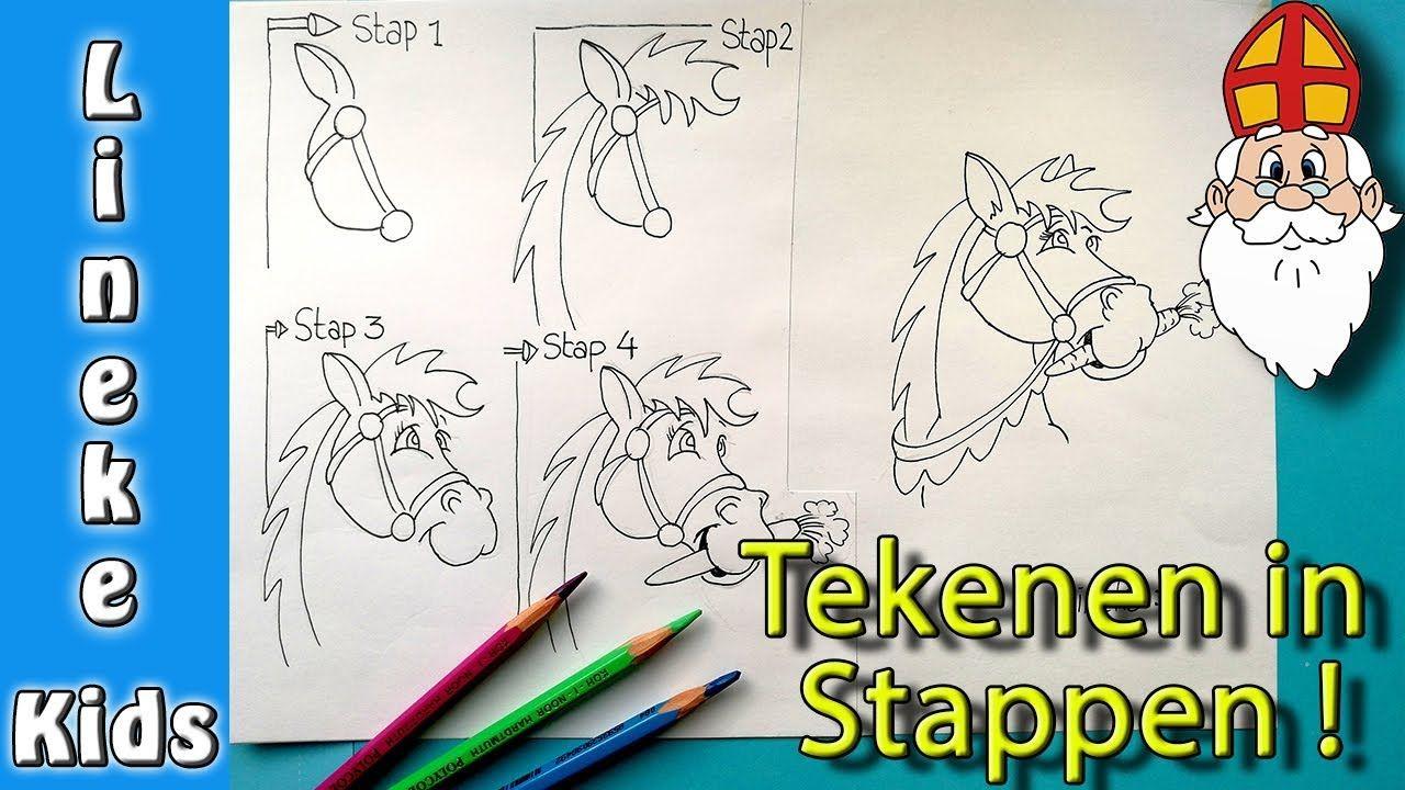 Zo Teken Je Amerigo Het Paard Tekening Voor Sinterklaas In Stappen Youtube Sinterklaas Tekenen Paard Tekeningen