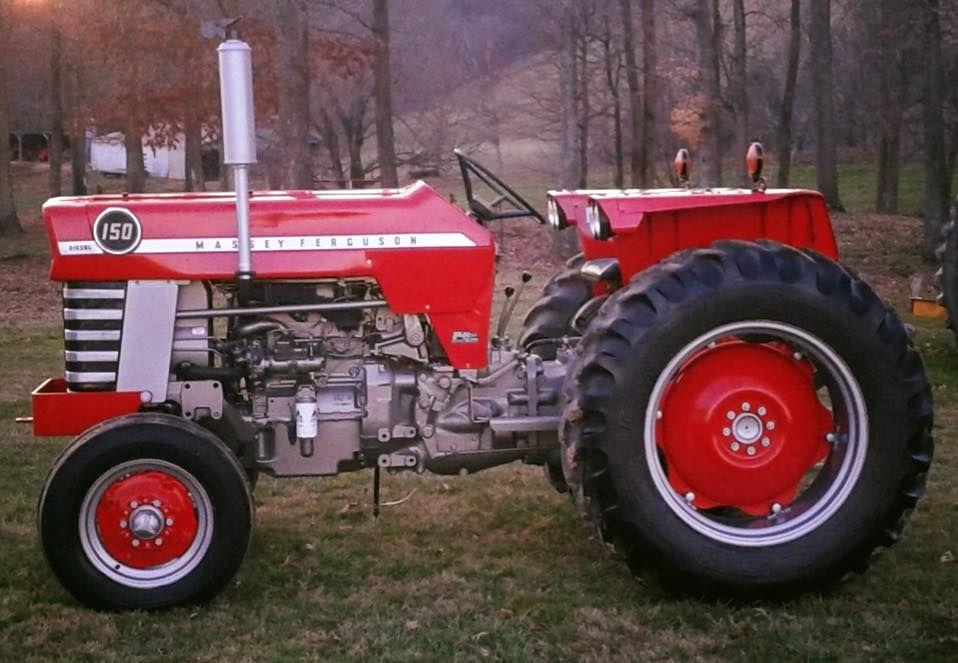 1974 Massey Ferguson 150 Owner Bobby Mcamis Restored In 2015 By Scotty Wedding Greeneville Tn Shared By Tim Mcamis Muscletractor Machinecrushmond Traktor
