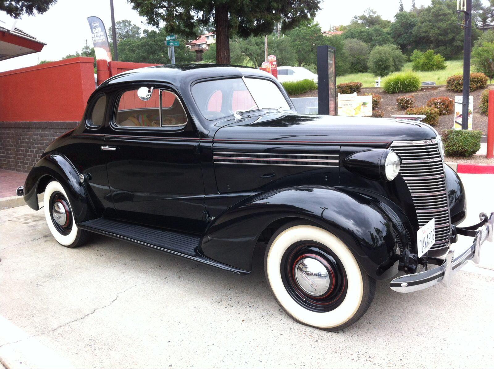 Jims 1938 chevrolet business coupe antique cars