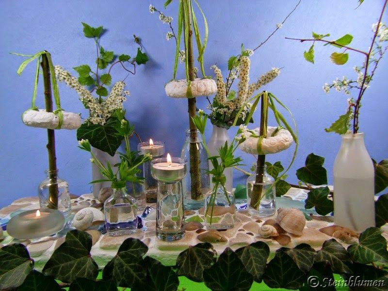 Tischdeko tanz in den mai meine blumendeko pinterest tischdeko richtfest und maibaum - Richtfest deko ...
