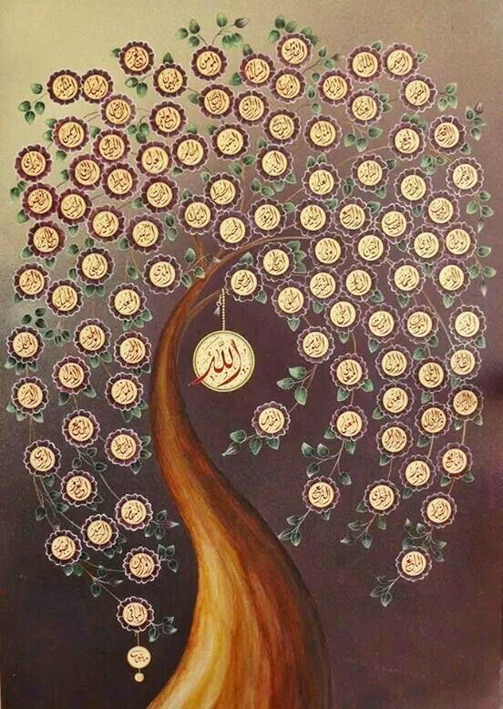 Kaligrafi Asmaul Husna Dan Artinya : kaligrafi, asmaul, husna, artinya, Asma-UL-Husna, Names, ALLAH, Kaligrafi,, Kaligrafi