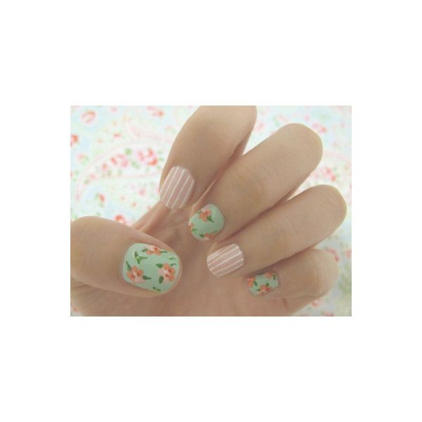nails   Tumblr found on Polyvore