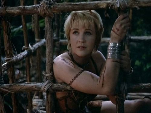 """Pin on A world in turmoil cried out for a hero, """"SHE"""" was XENA"""