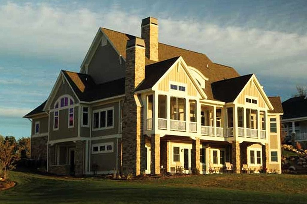 Country Style House Plan 3 Beds 3 Baths 4262 Sq/Ft Plan