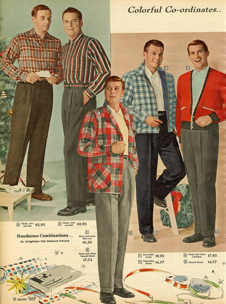 1958 mens trousers pantalons hommes ann es 50 usa pantalon homme mode et mode homme. Black Bedroom Furniture Sets. Home Design Ideas
