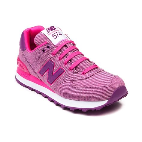 new balance 574 purple pink
