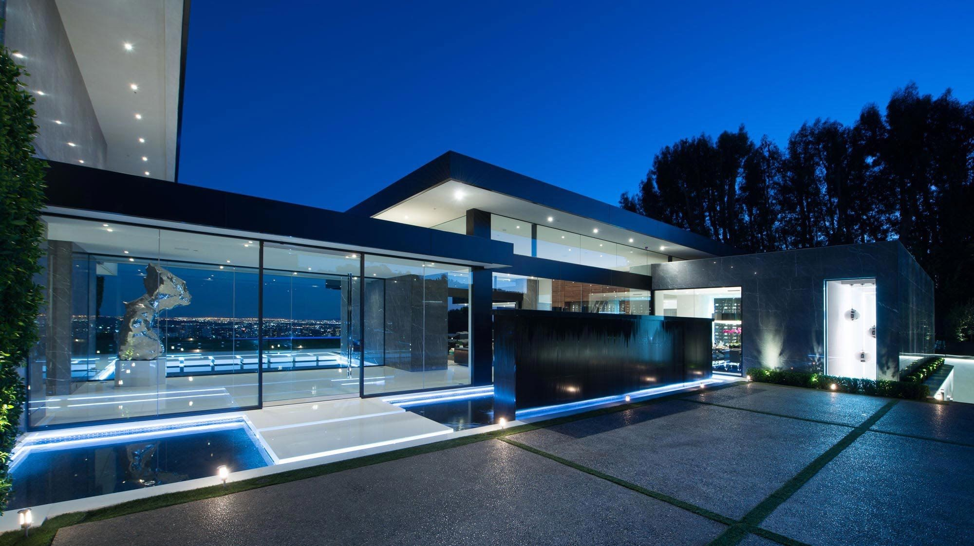 Schon Stunning Contemporary Luxury Residence In Bel Air, CA, USA (by Paul McCl.