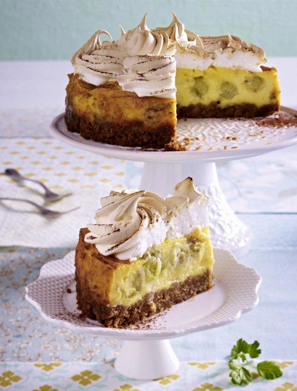 Stachelbeer Baiser Kuchen Rezept Baiser Kuchen Baiser Und