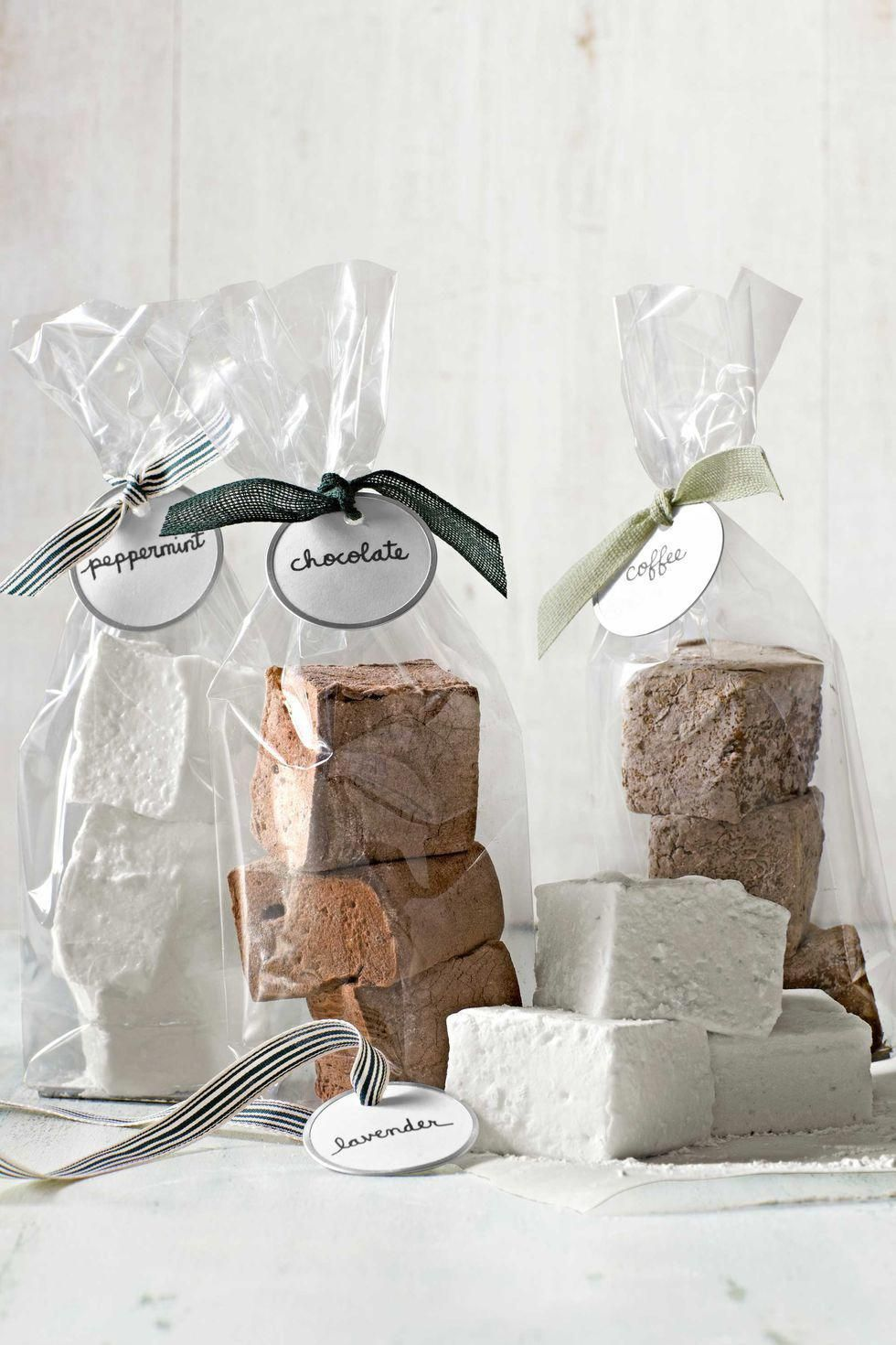 Gourmet marshmallow recipe - Great for gift giving!