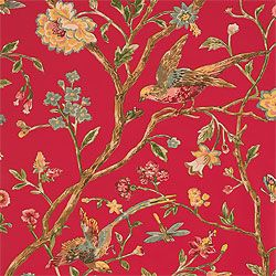 Thibaut wallpaper AVIARY, Great Estates collection (с