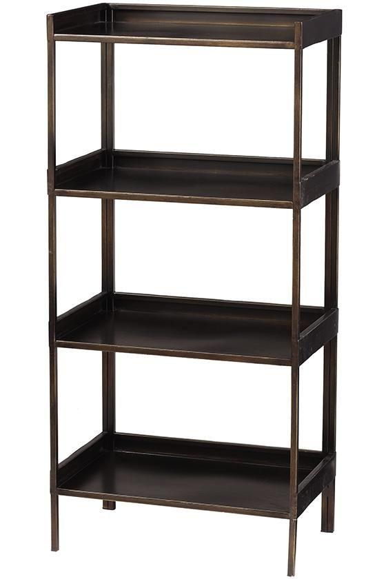 Cole Tall Metal Bookshelf Metal Bookshelf Home Decorators