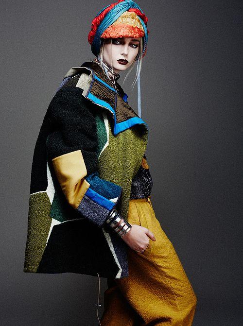 she-loves-fashion:  Lydia Hunt by Carmelo Donato 2014