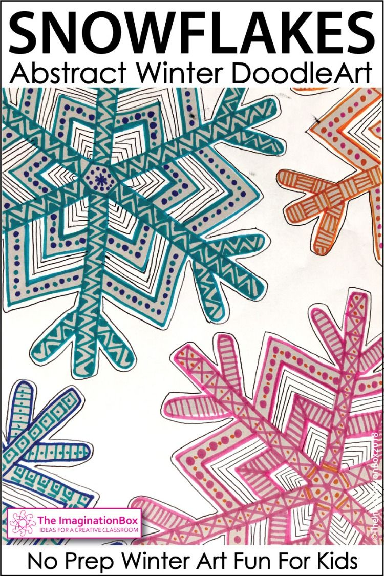 Pin by Lynne Arch on Art for the Classroom Snowflakes