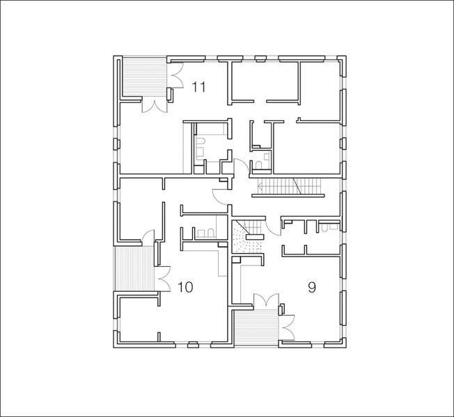 Architektur Grundriss idee und wirklichkeit wohnhaus der iba in hamburg
