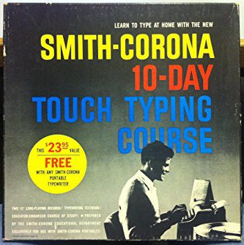 Unknown Artist Smith Corona 10 Day Touch Typing Course Vinyl Lp At Discogs Learn To Type Day Corona