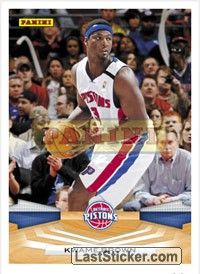 Kwame Brown 2009 10 Detroit Pistons Panini Nba Basketball 2009 2010 Trading Cards Collection Preview Laststicker Com In 2020 Nba Kwame Brown Nba Basketball