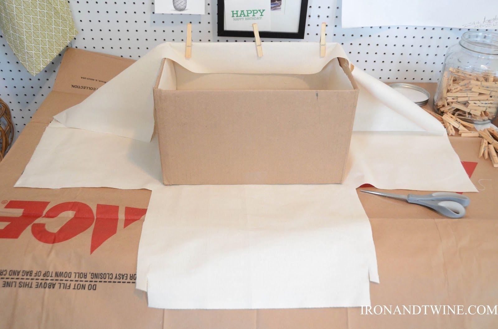 IRON & TWINE: DIY Belt Strap Bins