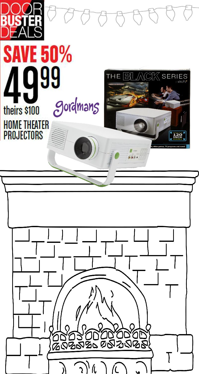 this home theater projector is the perfect gift for anyone on your