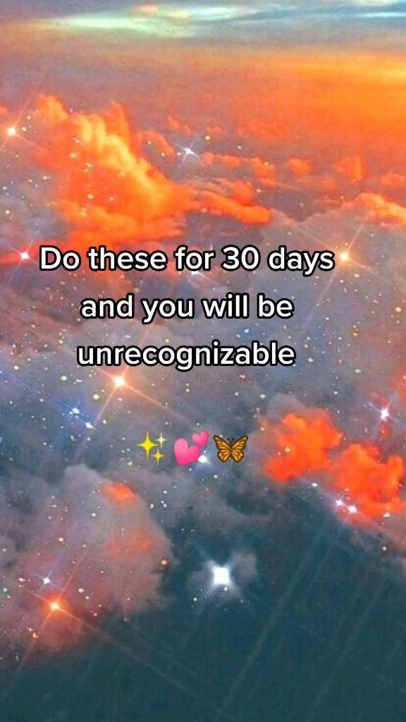 Do this for 30 days and you will be unrecognizable