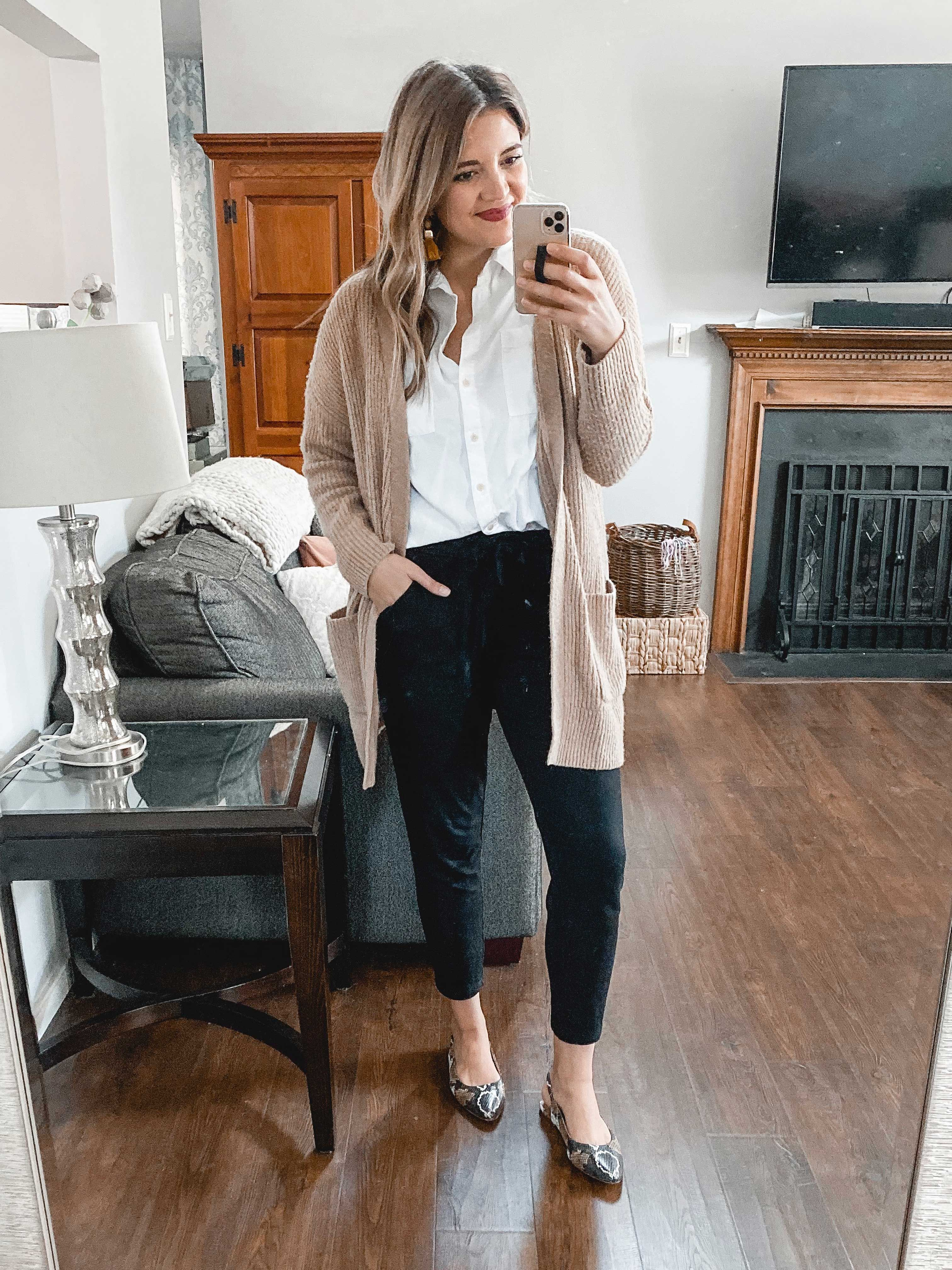 Six Winter Jogger Pants Outfits | Ways to Wear Joggers | By Lauren M Trendy Outfits